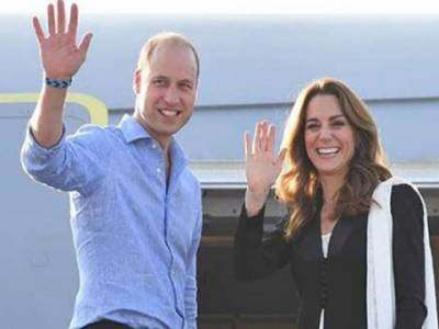 برطانوی شاہی جوڑا5روزہ دورے کے بعد واپس وطن روانہ