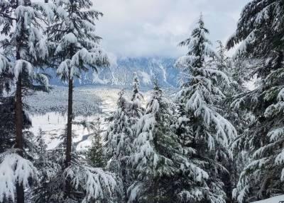 ملک کےبالائی علاقوں میں ہلکی برفباری,موسم سرد