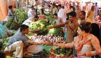 لاہور:اتوار بازاروں میں مہنگائی کا راج برقرار