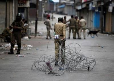 کشمیریوں کیخلاف بھارتی فوجی محاصرہ77ویں روز بھی جاری