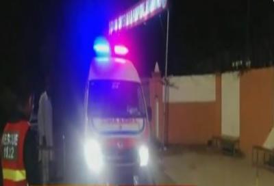 میانوالی: ٹریلر اور ایمبولینس میں تصادم، 9 افراد جاں بحق