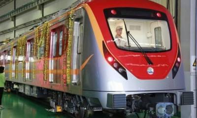 اورنج لائن میٹرو ٹرین 28 اکتوبر سے چلے گی