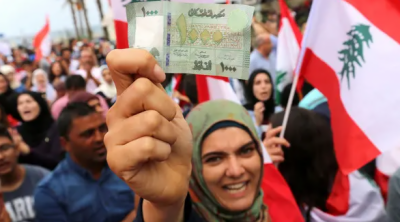 لبنان : احتجاج کا سلسلہ جاری، نبطیہ میں مظاہرین پر تشدد