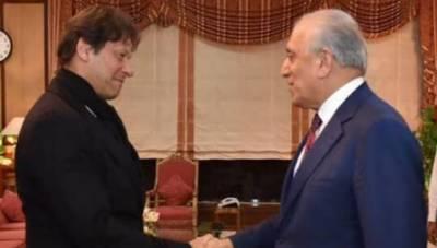 وزیراعظم اور زلمے خلیل زاد کے درمیان ملاقات،افغان امن عمل پر تفصیلی تبادلہ خیال