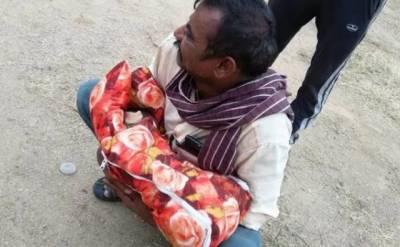 بھارت:اپنی ہی پوتی کو زندہ دفن کرنے کی کوشش کرنیوالا سنگدل دادا گرفتار