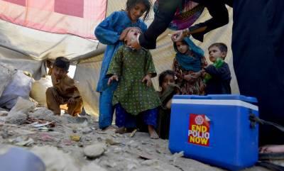 ملک کے مختلف حصوں میں 3 روزہ انسداد پولیو مہم جاری