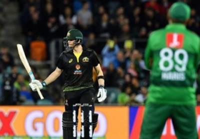 دوسرا ٹی 20: آسٹریلیا نے پاکستان کو 7وکٹوں سے ہرادیا