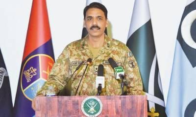 دھرناسیاسی سرگرمی،بطورادارہ فوج کا کوئی تعلق نہیں: میجرجنرل آصف غفور