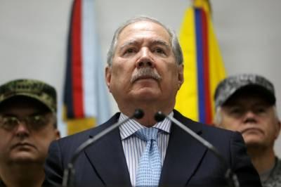 کولمبیا کے وزیر دفاع عہدے سے مستعفی