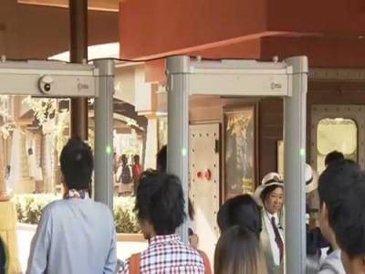 جاپان: ٹوکیو ڈزنی ریزارٹ میں سکیورٹی سخت