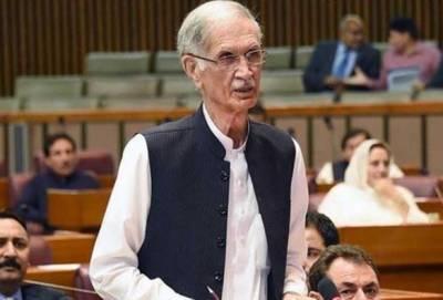 علی امین گنڈا پور پر فخر ہے انہوں نے مولانا فضل الرحمان کو چیلنج کیا:پرویز خٹک