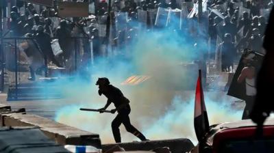 بغداد اور بصرہ میں سیکورٹی فورسز کی براہ راست فائرنگ،10 مظاہرین ہلاک