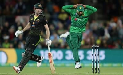 پاک آسٹریلیا ٹی 20:پاکستان تیسری بار پھر شکست سے دوچار