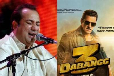 سلمان خان کی نئی فلم 'دبنگ 3' سے راحت فتح علی خان کا گانا نکال دیا گیا
