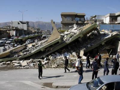 ایران : زلزلے سے زخمی ہونے والے افراد کی تعداد 500 سے تجاوز کر گئی