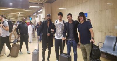 عالمی شہرت یافتہ فٹبالرز کاکا، لوئس، کارلس اور نکولز کی پاکستان آمد