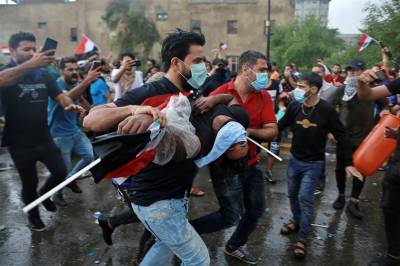 عراق:حکومت مخالف مظاہروں میں3 مظاہرین ہلاک