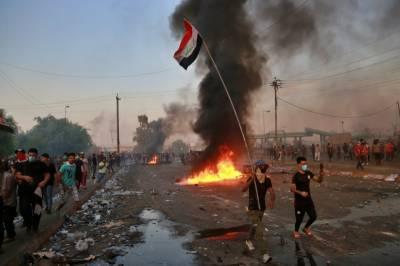 عراقی مظاہروں میں ہلاکتوں کی تعداد320تک پہنچ گئی
