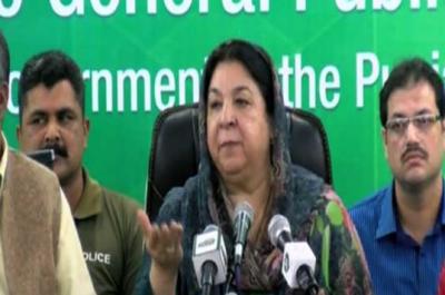 نواز شریف کی بیماری پر کسی قسم کا شک نہیں، ڈاکٹر رسک نہیں لے سکتے باہر بھیجنا چاہتے ہیں: ڈاکٹر یاسمین راشد
