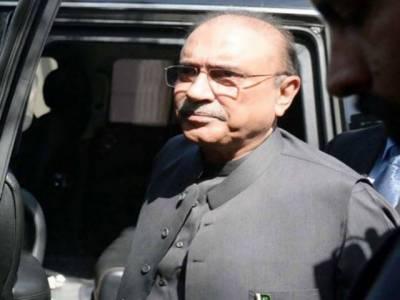 آصف زرداری کی علاج کے لئے کراچی منتقلی کی درخواست مسترد