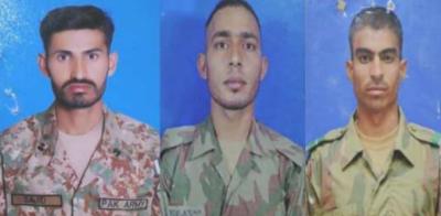 شمالی وزیرستان میں بارودی سرنگ کے دھماکے میں3 فوجی اہلکار شہید