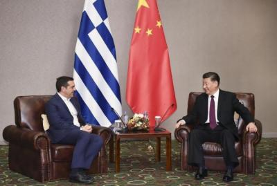 چینی صدر کی یونان کے سابق وزیراعظم سے ملاقات