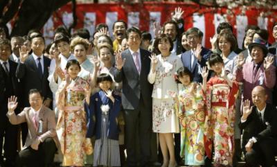 جاپانی وزیراعظم چیری بلاسم دعوت کے معاملے پر تنقیدکی زد میں