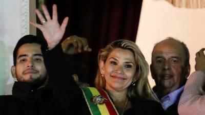 امریکہ نے بولیویا کی سینیٹر جینین اینیز کو عبوری صدر تسلیم کر لیا