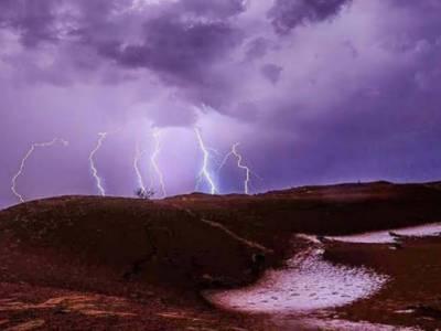 تھرپارکر میں آسمانی بجلی گرنے سے سینکڑوں مویشی ہلاک