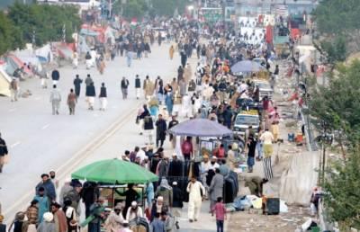 جے یو آئی کے دھرنے جاری،کئی شہروں میں ٹریفک معطل