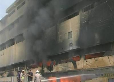 کراچی:3مختلف مقامات پر آتشزدگی کے واقعات