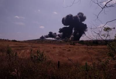 بھارت کا ایک اور جہاز میگ 29 گووا میں گر کر تباہ, پائلٹ محفوظ