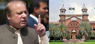 لاہور ہائیکورٹ :نوازشریف کی وطن واپسی کیلئے تحریری ضمانت طلب