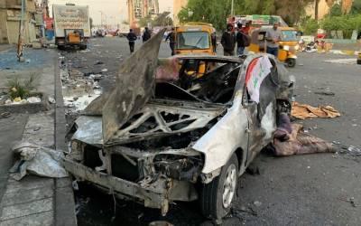 بغدادمیں علی الصبح کار بم دھماکے سے1 شخص ہلاک،20زخمی