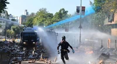 ہانگ کانگ:حکومت مخالف مظاہرے،پولیس سے جھڑپیں،متعدد افراد زخمی