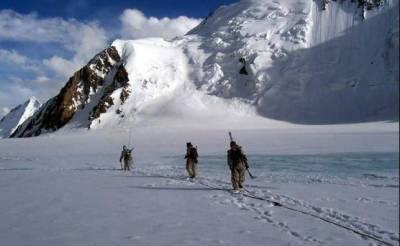 مقبوضہ کشمیر:سیاہ چن میں برفانی تودے کی زد میں آکر4بھارتی فوجی ہلاک
