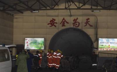چین:کوئلے کی کان میں گیس دھماکہ،15افراد ہلاک 9زخمی