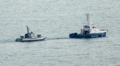 روس نے یوکرین کے تین بحری جہاز واپس کردیے