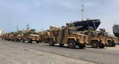 لیبیا کی فوج نے مصراتہ میں ترکی کی 19 بکتربند گاڑیاں تباہ کر ڈالیں