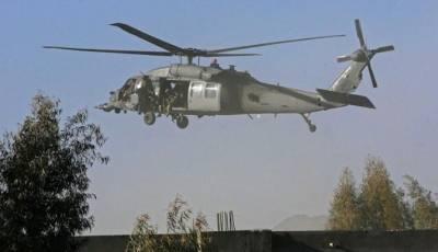 افغانستان:طالبان کاامریکی ہیلی کاپٹر تباہ کرنے کا دعوی,2اہلکار ہلاک