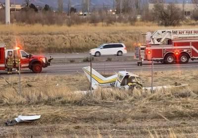 امریکی ریاست یوٹا میں چھوٹاطیارہ حادثے کا شکار