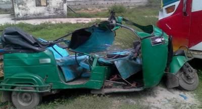 کراچی:کار کی ٹکر سے رکشہ ڈرائیور جاں بحق