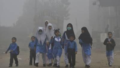 پنجاب میں اسموگ کی صورتحال برقرار ,اسکولوں میں چھٹی کا اعلان
