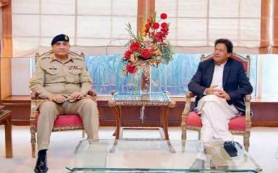 وزیراعظم سے آرمی چیف کی ملاقات، پاک فوج کے پیشہ ورانہ امور پر بات چیت