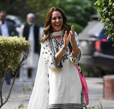 برطانوی شہزادی کیٹ مڈلٹن کا پاکستانی فیشن ڈیزائنر کے نام تہنیتی خط