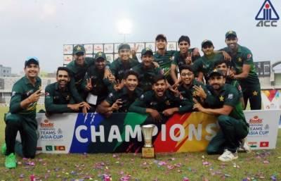 پاکستان نے ایشین کرکٹ کونسل ایمرجنگ ٹیمز کپ کا ٹائٹل جیت لیا