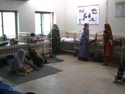 تھر: غذائی قلت کے باعث 9 بچے انتقال کرگئے