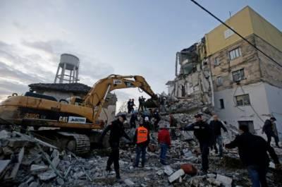 البانیہ کے دارالحکومت ترانہ میں6.4 شدت کا زلزلہ