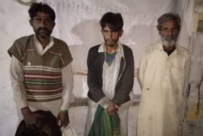 سرگودھا:میت کی تدفین کے بعد قبرستان سے کفن چوری کرنے والے 3 چور گرفتار