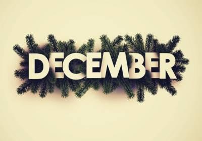 ماہ دسمبر منفرد مہینہ ،اتوار ،پیر اور منگل کے ایام پانچ پانچ مرتبہ آئیں گے